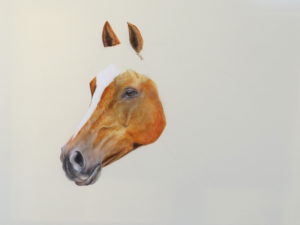 Valerie Rogers painting Horses